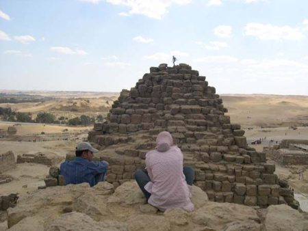 RIDDLES OF THE EGYPTIAN PYRAMIDS
