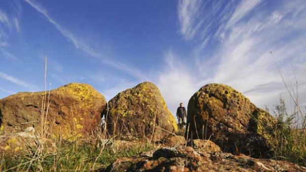 Victoria's own Stonehenge