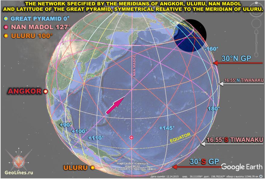 пересечения экватора