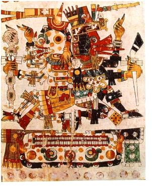 боги майя пирамида