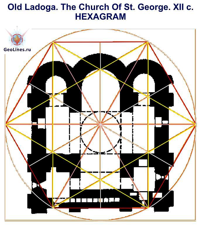 СТАРАЯ ЛАДОГА святой ГЕОРГИЙ hexa