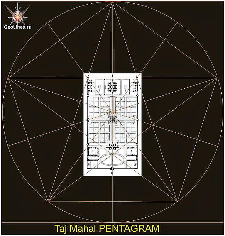 Тадж-махал пентаграмма