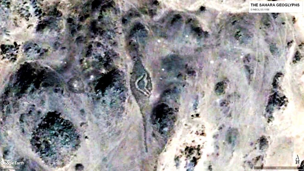 геоглифы Сахары Символ SS 1159