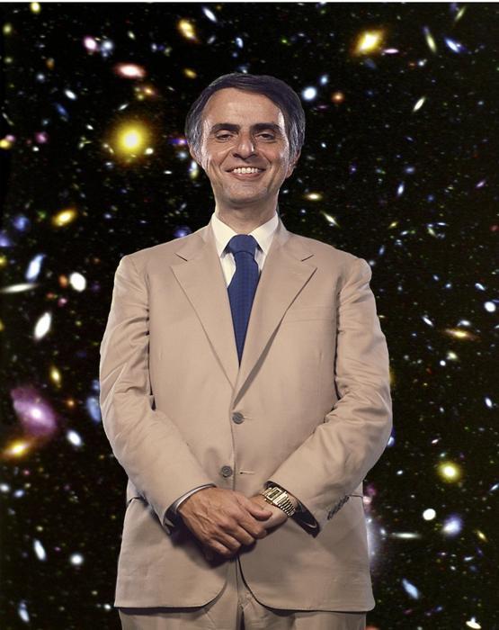астроном Карл Саган