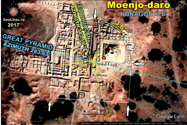 Теотиуакан Великая пирамида Хеопрса