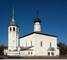 Воскресенская церковь на торгу в Суздале