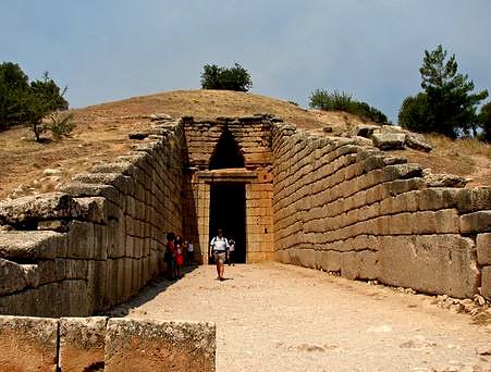 гробница в Микенах