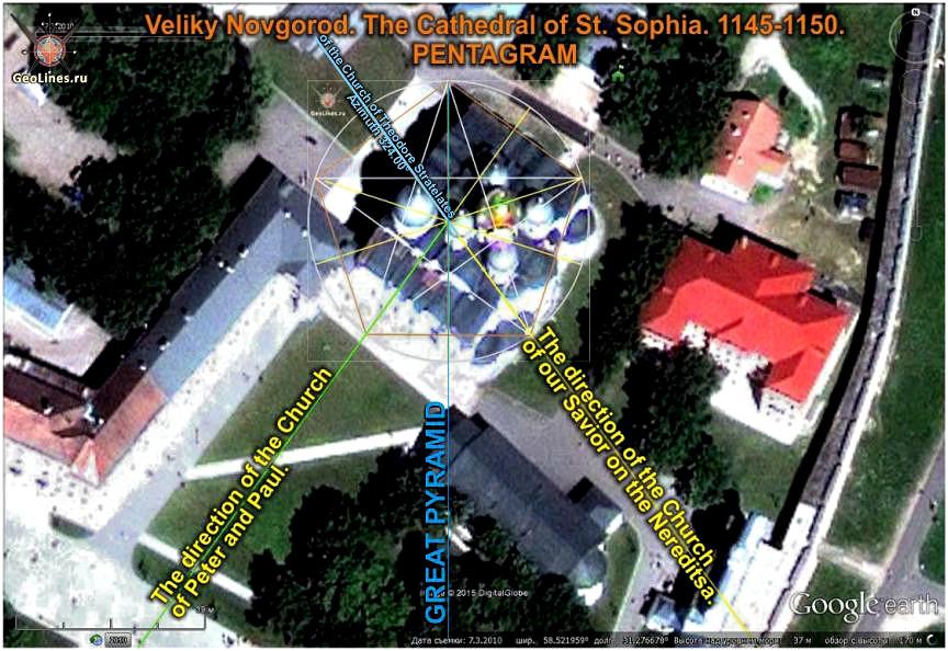 Новгород Софийский собор ориентация