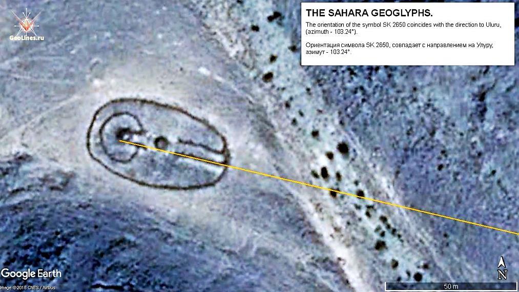 геоглифы НЛО Сахары