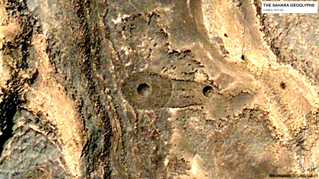 геоглифы Сахары Символ SKR 482