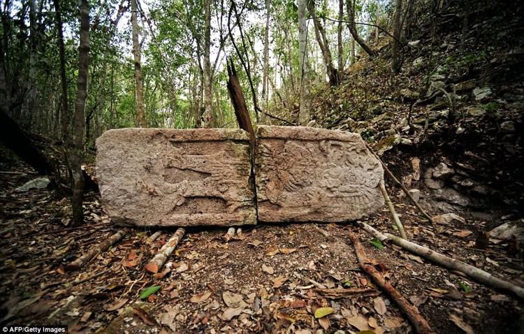 развалины майя