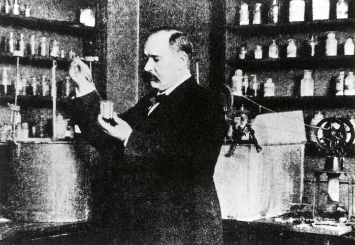 химик Сванте Аррениус