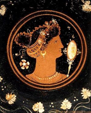 Греки знали, как использовать  волосы как средство привлечения