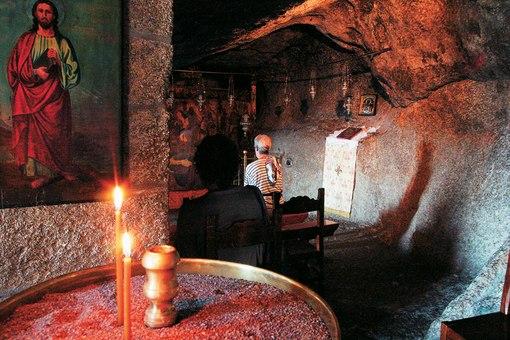 Пещера Апокалипсиса в легендарном монастыре Иоанна Богослова