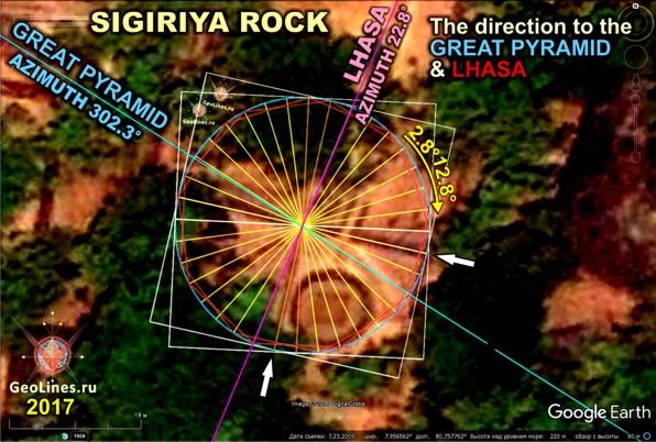 Сигирия Великая пирамида