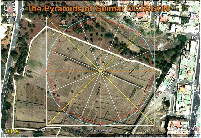 Pyramids of GUIMAR octagon