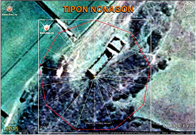 Tipon orientation nonagon