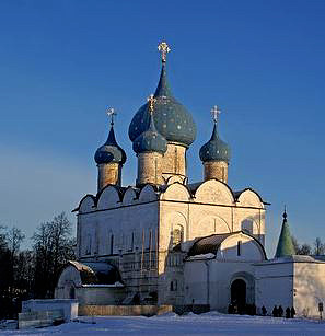 Рождественский собор в Суздальском кремле