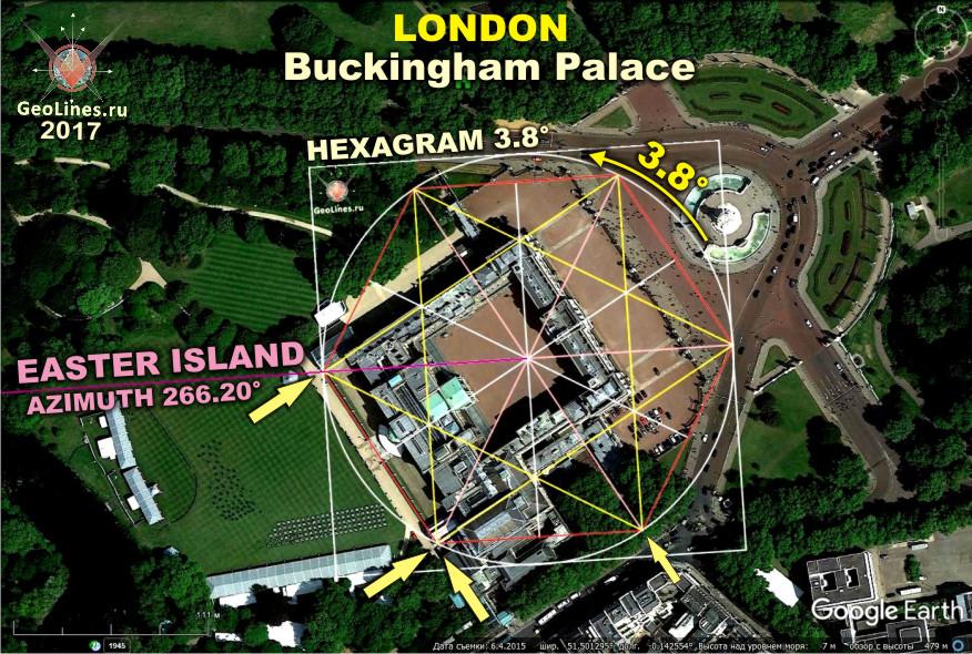 Букингемский дворец направление на остров пасхи