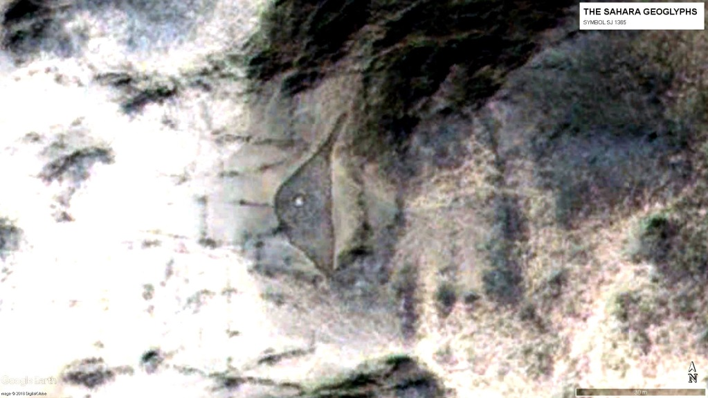 Геоглиф SJ 1365 из центральной части