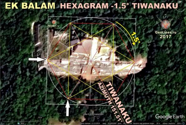 Центром комплекса Эк-Балам