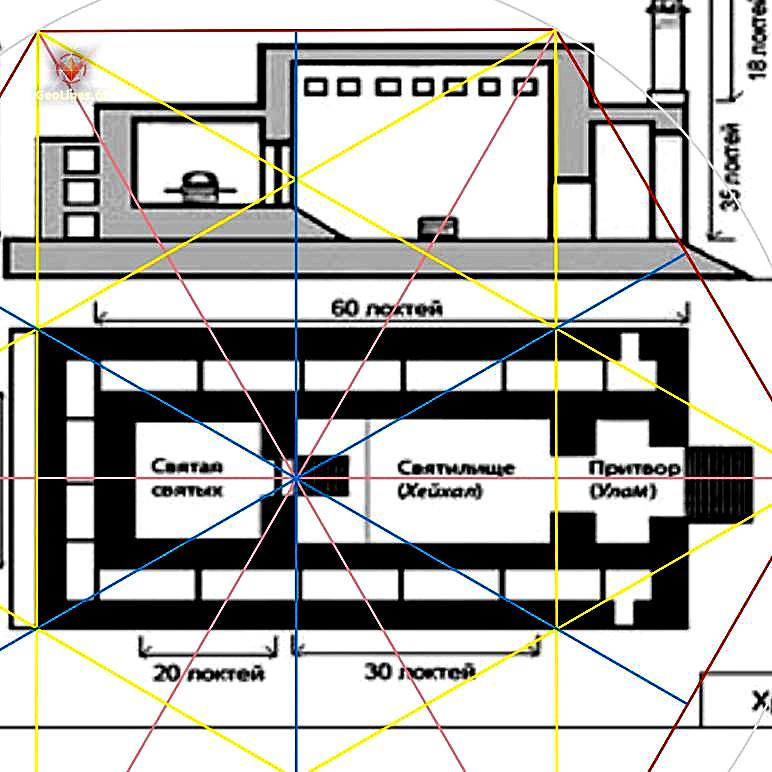 Храм Соломона план проект