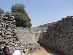 Стены Большой Зимбабве