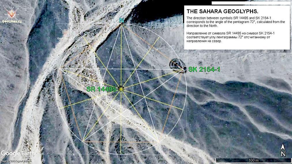 символы Сахары SR 14495 и SK 2154
