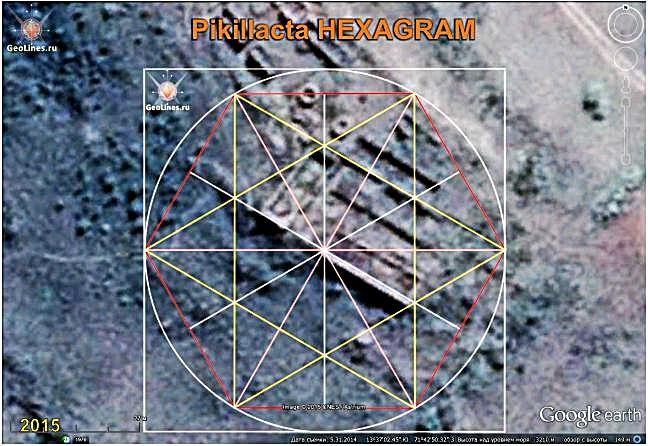 Руины Пикильякта ориентация гексаграмма