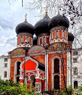 Москва. Собор Покрова Пресвятой Богородицы в Измайлове.