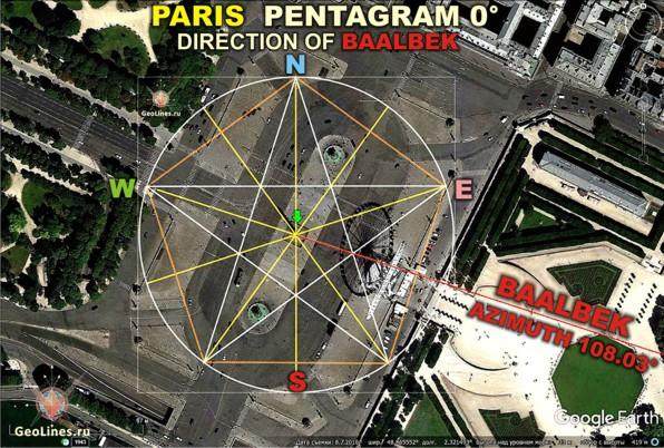 Париж обелиск
