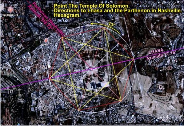 Храм Соломона гексаграмма