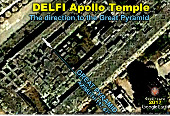 Ориентация храма Аполлона