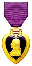 """Медаль """"Фиолетового Сердца"""" США"""