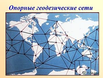 опорные геодезические сети