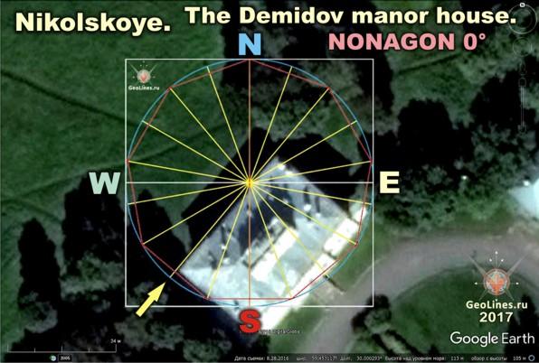 дом Демидовых в Никольском