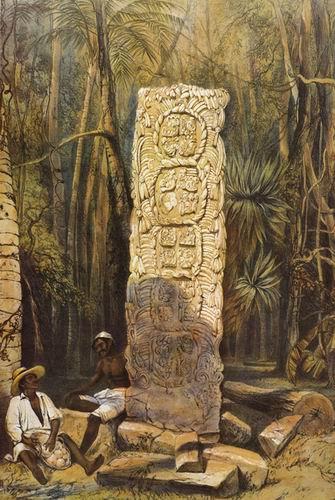 В Копане находятся несколько из самых сложных и мастерски выполненных древними скульпторами майя стел.