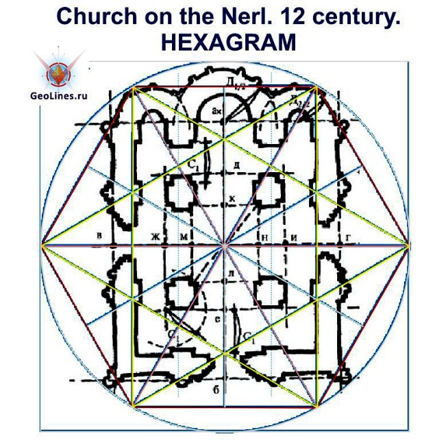 План храма Покрова на нерли