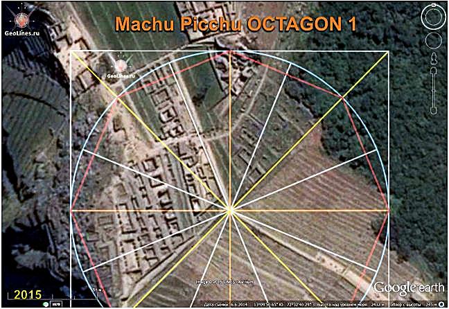 MACHU PICCHU orientation octagon