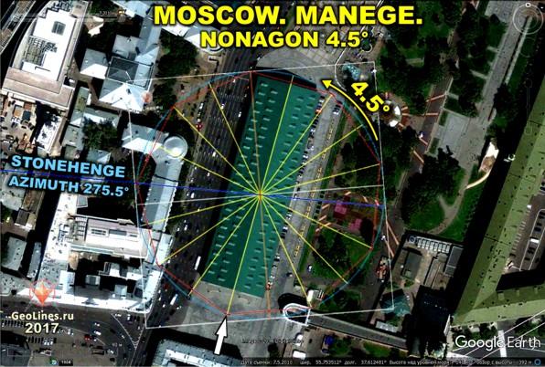 Манеж возле Кремля