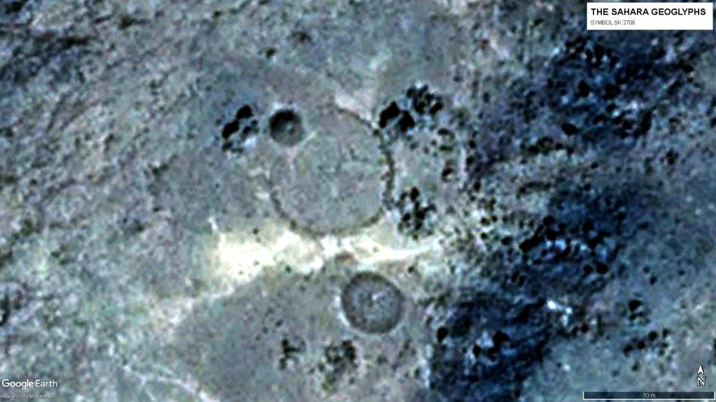Геоглиф Символ SК 2706