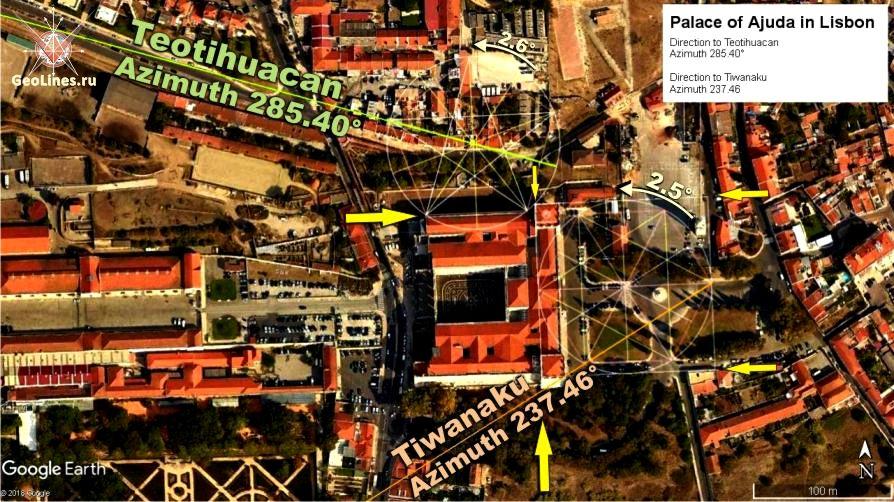 дворец Аржуда Теотиуакан