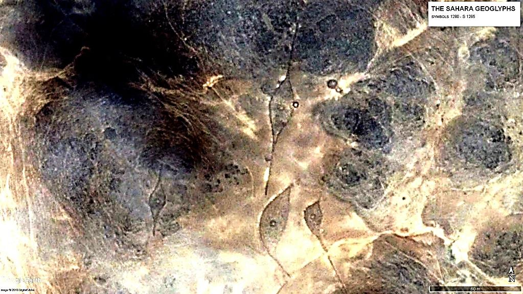 Геоглиф Сахары Символ S 1283