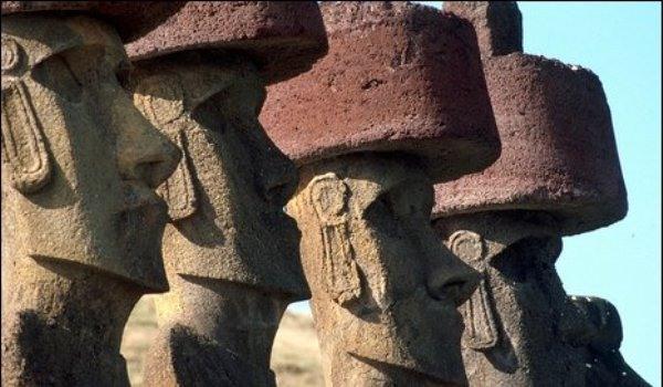 лица моаи крупно