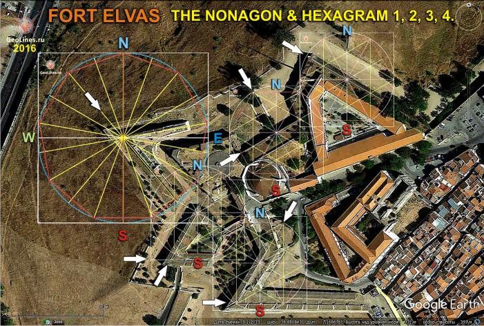 Форт элваш гексаграмма и нонагон