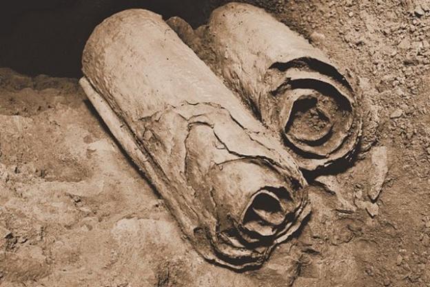 «Свитки Мёртвого моря», найденные в Кумранских пещерах