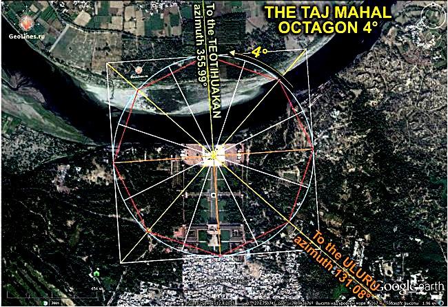 Тадж-Махал Теотиуакан Улуру
