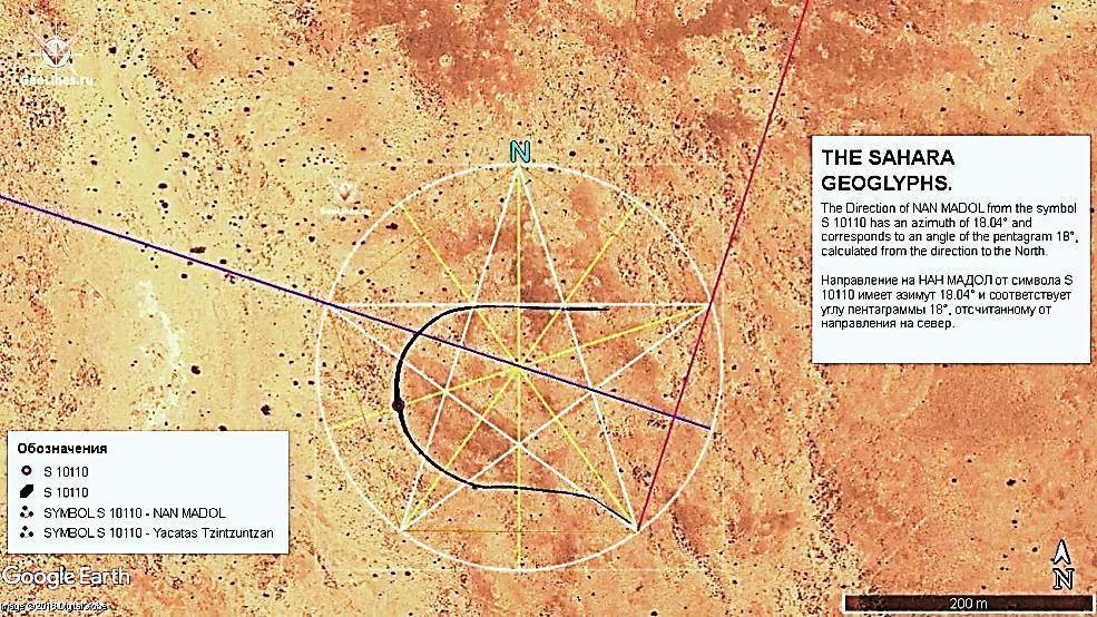 направление на нан-мадол геоглифы