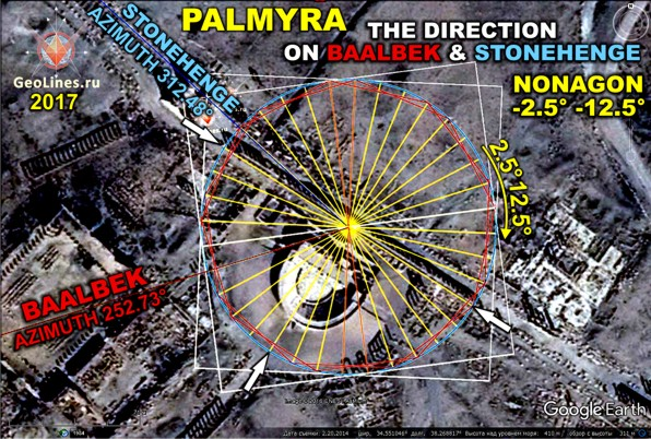 Направление на Стоунхендж в Пальмире