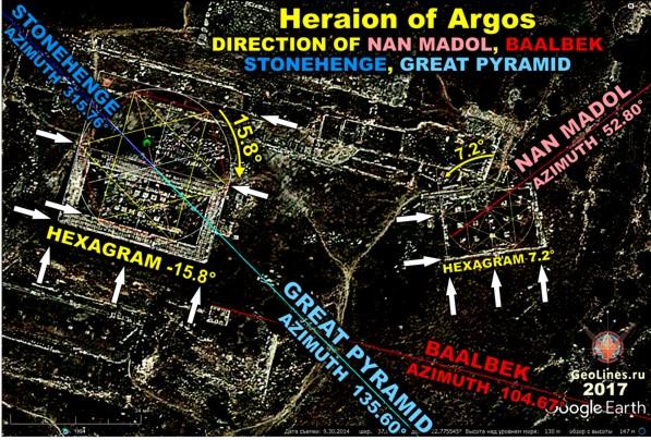 все сооружения Геры Аргосской.